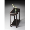 Devane Midnight Rose Chairside Table, Midnight Rose