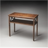 Alcott Dark Toffee Console Table, Dark Toffee