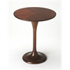 Palmer Plantation Cherry Accent Table, Plantation Cherry