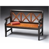 Gerrit Transitional Cherry Bench, Transitional Cherry