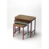 Industrial Chic Nesting Tables, Industrial Chic