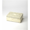 Gray Bone Inlay Storage Box, Gray Bone Inlay