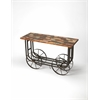 BUTLER Console Table, Industrial Chic