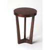 Aphra Plantation Cherry Accent Table, Plantation Cherry