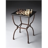 Fossil Stone Game Table, Metalworks
