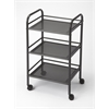 BUTLER CONCORD GRAY SERVING CART