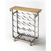 Landry Industrial Chic Wine Rack, Industrial Chic