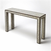 Basan Wood & Bone Inlay Console Table, Wood & Bone Inlay