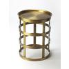 Butler Regis Industrial Chic Accent Table, Industrial Chic