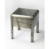 Butler Yeager Aviator End Table, Industrial Chic