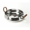 Brigadier Hammered Stainless Steel Serving Tray, Hors D'oeuvres