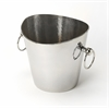 Mendocino Hammered Stainless Steel Wine Bucket, Hors D'oeuvres