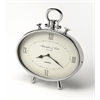 Leah Oval Desk Clock, Clock- Hors D'oeuvres
