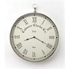 Grafton Nickel Finish Wall Clock, Clock- Hors D'oeuvres