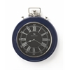 Sapphire Blue Finish Wall Clock, Clock- Hors D'oeuvres