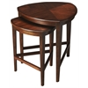 Finnegan Antique Cherry Nesting Tables, Antique Cherry