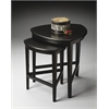 BUTLER Nesting Tables, Black Licorice