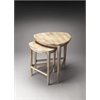 BUTLER Nesting Tables, Driftwood