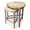 Finnegan Driftwood Nesting Tables, Driftwood