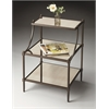 BUTLER Tiered Side Table, Metalworks