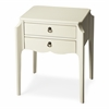 Wilshire Glossy White Accent Table, Glossy White