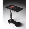 BUTLER Mobile Tray Table, Black Licorice