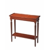 Aubrey Plantation Cherry Console Table, Plantation Cherry