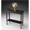 BUTLER Console Table, Plum Black