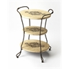 BUTLER Tiered Accent Table, Metalworks