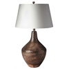 Butler  Antique Copper Table Lamp, Hors D'oeuvres