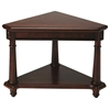 Antwerp Plantation Cherry Corner Table, Plantation Cherry