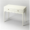 Marisol Cottage White Console Table, Cottage white