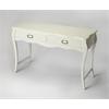 Rochelle White Console Table, White