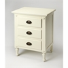 Easterbrook White Petite Chest, White