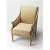 BUTLER Accent Chair, Cappuccino