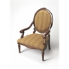 Rookwood Plantation Cherry Accent Chair, Plantation Cherry
