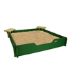 Sandbox 5'X5' with Seats and Cover included