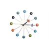 Color Bubble Wall Clock, Multi