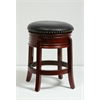 "24"" Hamilton Swivel Stool, Cherry"