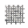 Legion furniture Mosaic Mix With Stone -Sf, White, Gray