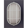 PLC Lighting PLC 1 Light Outdoor Fixture Marine Collection , White