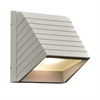 PLC 1 Light-LED Outdoor Fixture Le Doux Collection , Silver