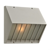 PLC 2 Light Outdoor Fixture Castana Collection , Silver
