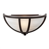 PLC Lighting PLC 1 Light Sconce Highland Collection , Oil Rubbed Bronze