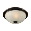 PLC Lighting PLC 1 Light Ceiling Light Compass Collection , Oil Rubbed Bronze