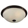 PLC Lighting PLC 2 Light Ceiling Light Compass Collection , Oil Rubbed Bronze