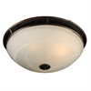 PLC Lighting PLC 3 Light Ceiling Light Compass Collection , Oil Rubbed Bronze