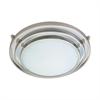 PLC 1 Light Ceiling Light Cascade Collection , Satin Nickel