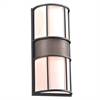 PLC Lighting PLC 2 Light Outdoor Fixture Larissa Collection , Bronze