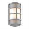 PLC 1 Light Outdoor Fixture Olsay Collection , Silver